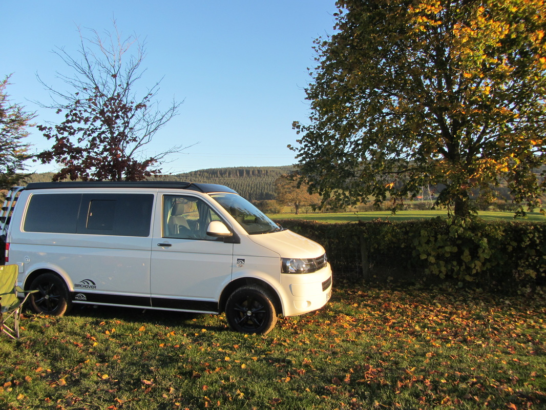 Campervan hire from East Midlands to Wales
